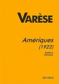 Varèse: Amériques