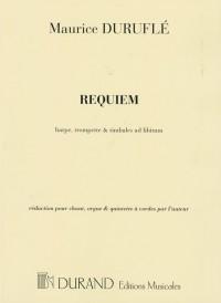 Duruflé: Requiem Op.9 (Reduced Version)