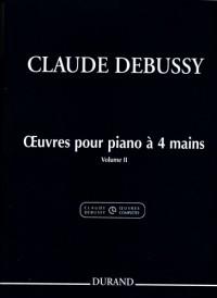 Debussy: Oeuvres pour Piano à 4 Mains Vol.2 (Crit.Ed.)