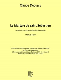 Debussy: Le Martyre de saint Sébastien (Vocal Score)