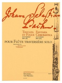 J.S. Bach: Toccata And Fugue BWV 565/Fantasia Chromatica BWV903 (Flute)