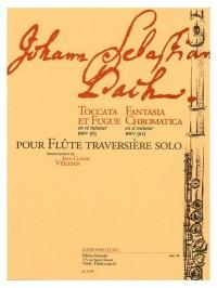 J.S. Bach: Toccata And Fugue BWV 565/Fantasia Chromatica BWV903 (Flute)