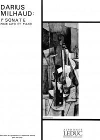 Darius Milhaud: Sonata For Viola And Piano No.1