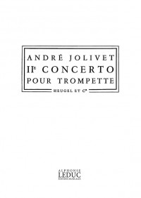 André Jolivet: Concerto No.2