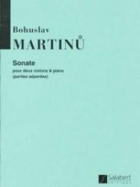 Martinu: Sonate H213 (1932)