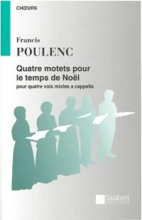 Poulenc: 4 Christmas Motets