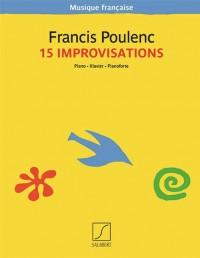 Francis Poulenc: 15 Improvisations