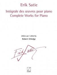 Erik Satie: Intégrale des œuvres pour piano voll. 1 - 3