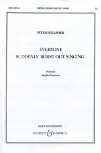 Willsher, P: Everyone suddenly burst out singing