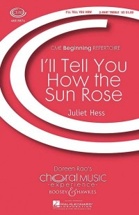 Hess, J: I'll Tell You How the Sun Rose