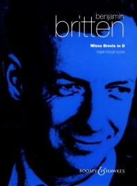 Britten, B: Missa Brevis in D op. 63