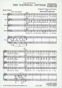 Britten, B: The National Anthem