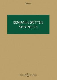 Britten, B: Sinfonietta op. 1