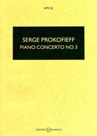 Prokofieff, S: Piano Concerto No. 3 in C major op. 26