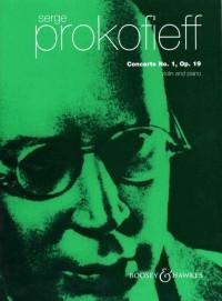 Prokofieff, S: Concerto No. 1 op. 19