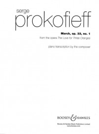 Prokofieff, S: March op. 33/1