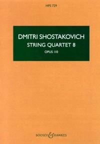 Shostakovich: String Quartet No. 8 op. 110