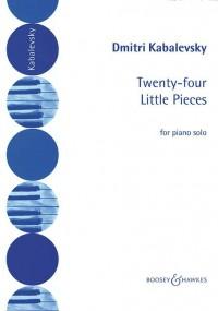 Kabalevsky, D: 24 Little Pieces op. 39