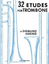 Sigmund Hering: 32 Etudes for Trombone