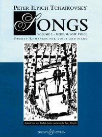 Tchaikovsky: Songs Band 2
