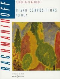 Rachmaninoff, S: Piano Compositions Vol. 1