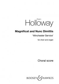 Holloway, R: Magnificat and Nunc Dimittis