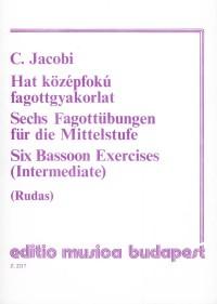 Six Bassoon Exercises (Intermediate)