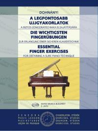 Essential Finger Exercises (piano)