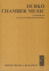 Chamber Music (score and parts)