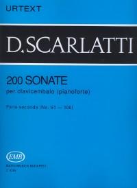 Scarlatti, Domenico: 200 Sonatas Volume 2