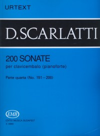 Scarlatti, Domenico: 200 Sonatas Volume 4