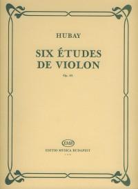 Six etudes de violon