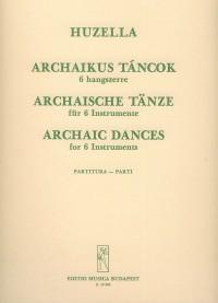 Archaic Dances for six instruments