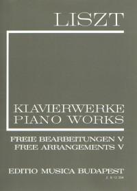 Liszt: Free Arrangements V (paperback)