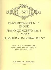 Piano Concerto No. 1 in E flat major, R.