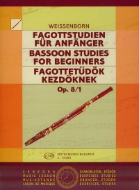 Bassoon Studie for Beginners Vol.1