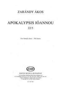 Apokalypsis Ioannou. SSAA