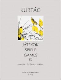 Kurtág György: Játékok (Games) Volume IX