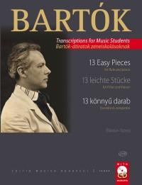 Bartók: 13 Easy Pieces (flute and piano/CD)