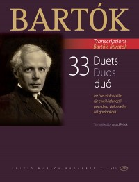 Bartók Béla: 33 Duets for Two Cellos