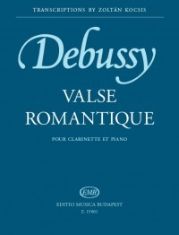 Debussy: Valse romantique for clarinet and piano