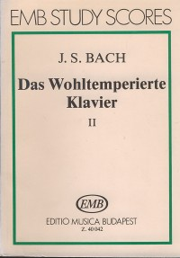 The Well Tempered Clavier II BWV 870-893