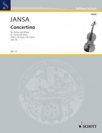 Jansa, L: Concertino D Major op. 54