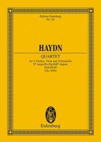 Haydn, J: String Quartet Eb major op. 64/6 Hob. III: 68