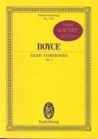 Boyce, W: 8 Symphonies op. 2