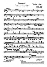 Vivaldi, A: Concerto D Major op. 35/19 RV 212a / PV 165