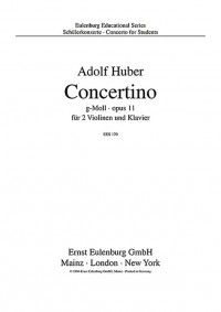 Huber, A: Concerto in G Minor op. 11