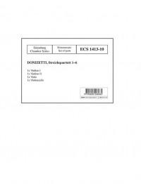 Donizetti, G: String Quartets No. 1-6