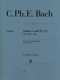 Bach, C P E: Sonata for Flute Solo Wq 132