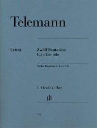 Telemann, G P: Twelve Fantasias for Flute Solo TWV 40:2-13